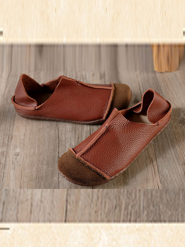 Cognac Leather Shoes
