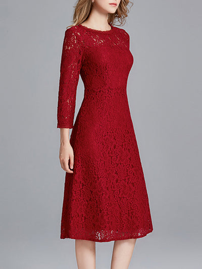Luscious Illumination Lace Dress