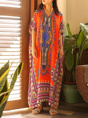 Dashiki Maxi Dress