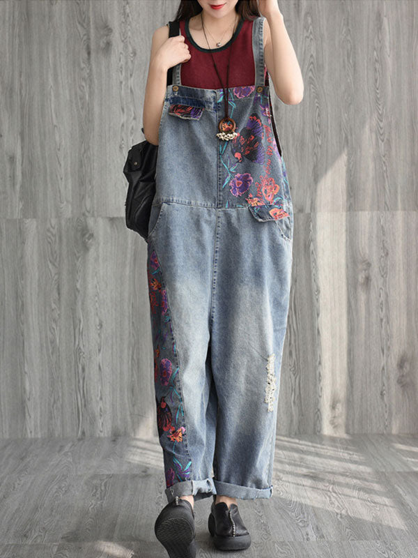 Alexandria Cotton Overalls Dungaree