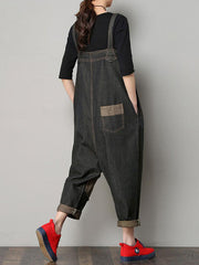 Gingham Overall Dungarees