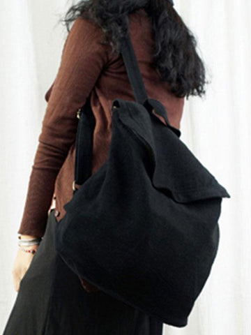 Flapper Up Canvas Backpack