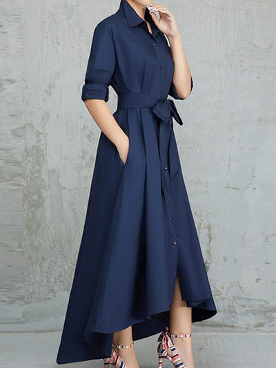 Forever Allure Shirt Dress