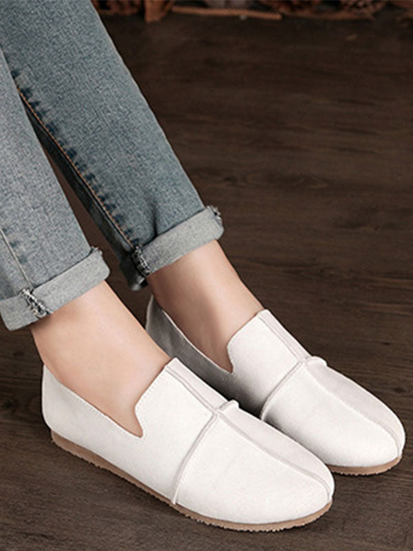 Look Loafer Vintage Leather Shoes