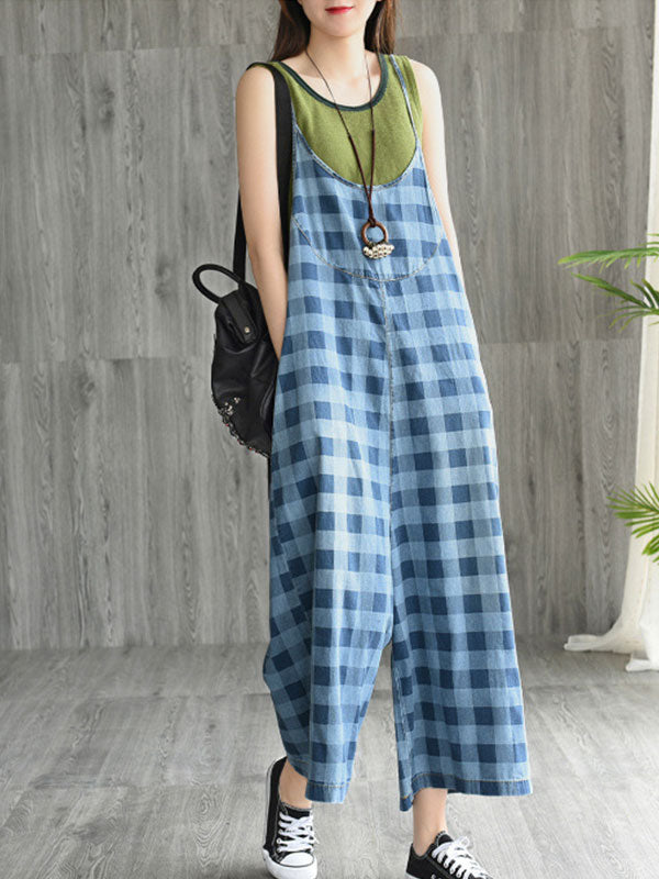 Bold Notion Wide-Leg Jumpsuit Overalls