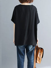Let it be Me Half Sleeves T-Shirt Basic Top