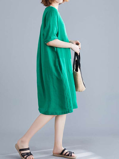 Added Enjoyment Midi Dress