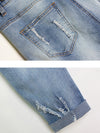 3D Flowers Denim Jeans