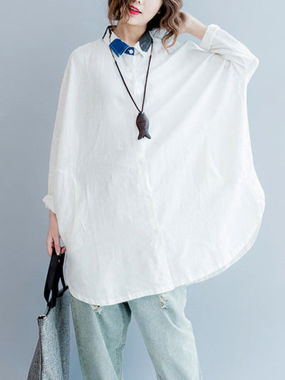 Give Me Fever White Linen Shirt