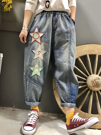 Hit Snooze Twinkle Star Cotton Pants