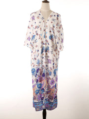 Feelings of Love Cotton Kimono Gown