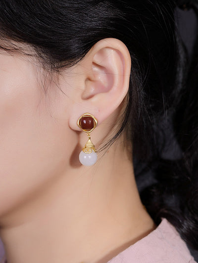 Second to None Drop Earrings