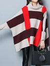 Spell Color Split Cape Sweater