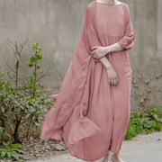 Premium Quality Silk Casual Wear Gown Dress