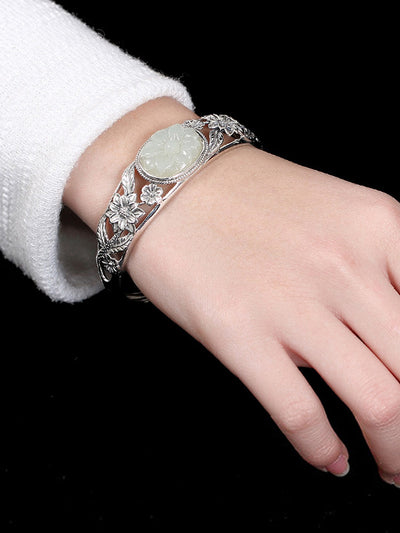 Linked and Lively Handcuff Bracelet