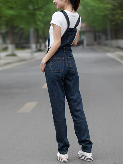 Sharon Denim Overalls