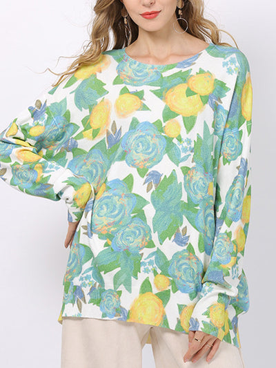 In Nature Yellow Rose Floral T-Shirt