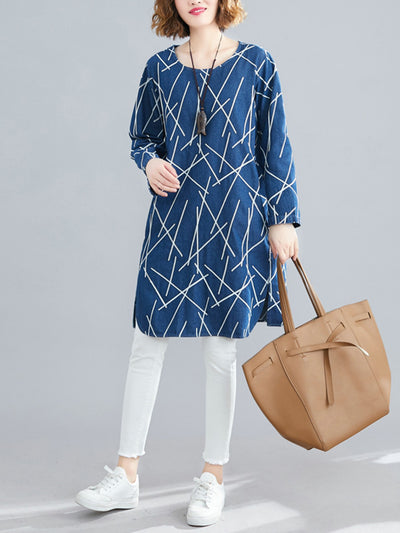 Alissa Demille Cotton Tunic Top
