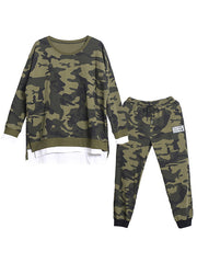 Camouflage Carnival Cotton Co-Ords
