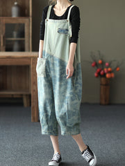 On The Floor Printed Overall Dungaree