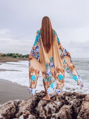 Day without You Fluer Kimono