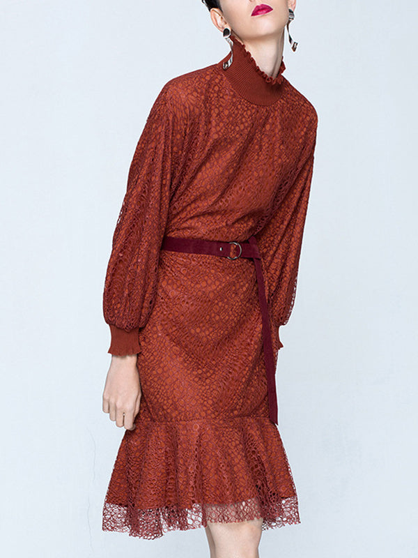 Shiloh Midi Lace Dress