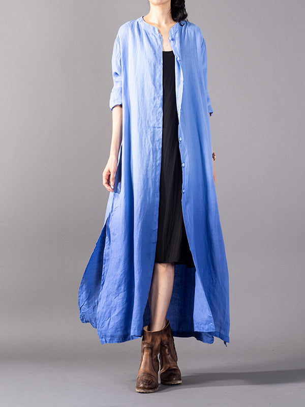 Ombre Balayge Shirt Dress
