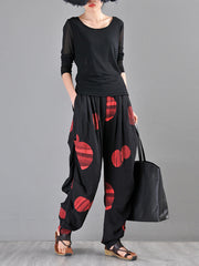 Kartini Abstract Circles Harem Pants
