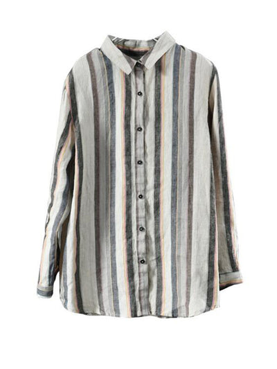 Shawn Full Sleeve Vintage Stripe Shirt