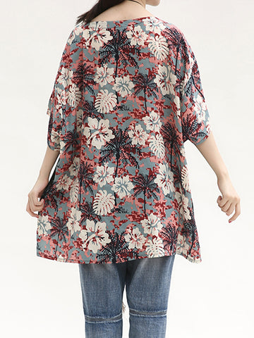 Berry Bistro Tunic Top