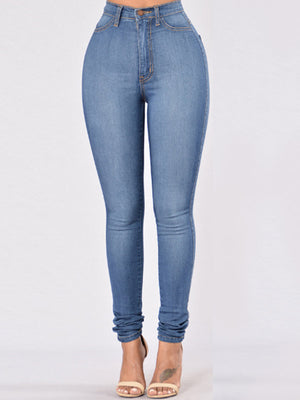 High Waist Stretch Fit Jeans