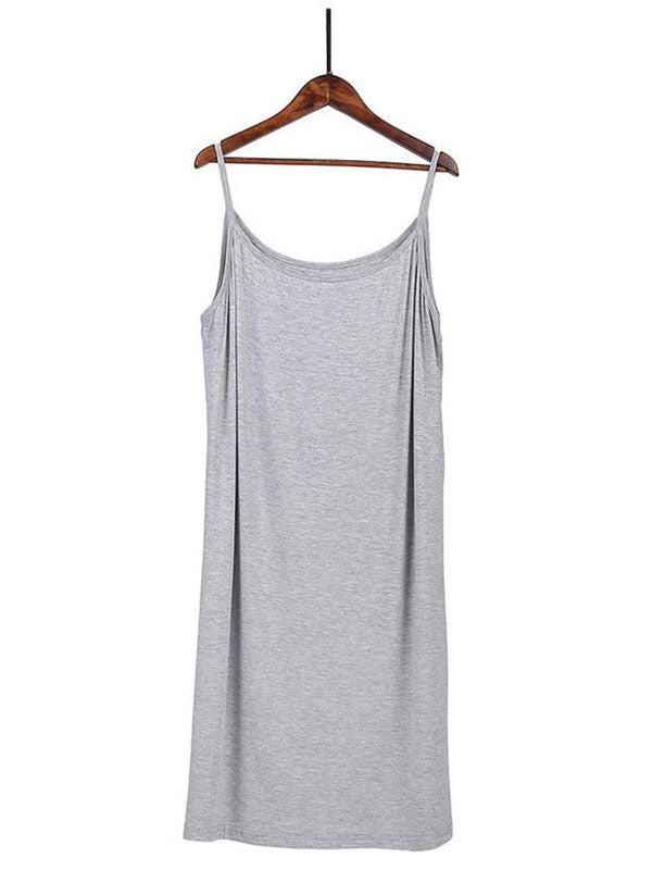 Classic Modal Cotton Slip Dress