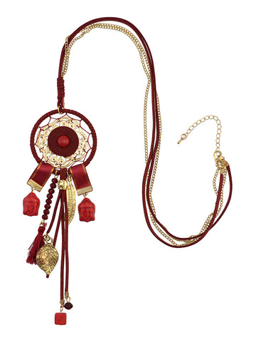 Ethnic Damask Necklace