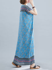 I'm True Cotton Kaftan Dress