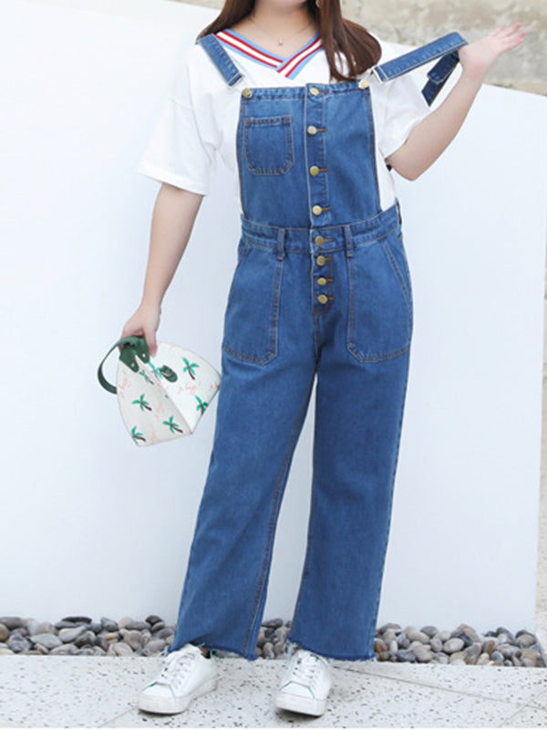 Love For Denim Overall Dungarees