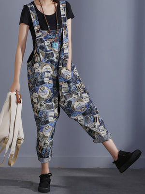 Love Game Overall Dungarees