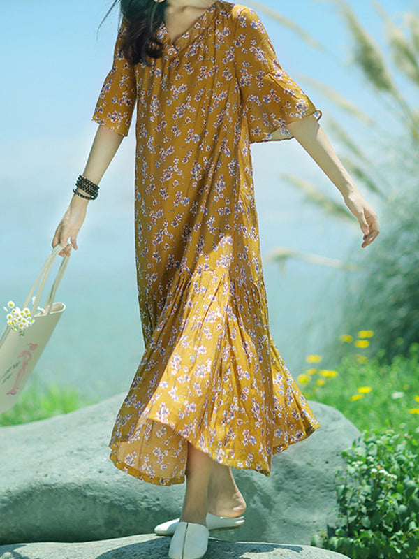 Flower Delivery Swing A-line Dress