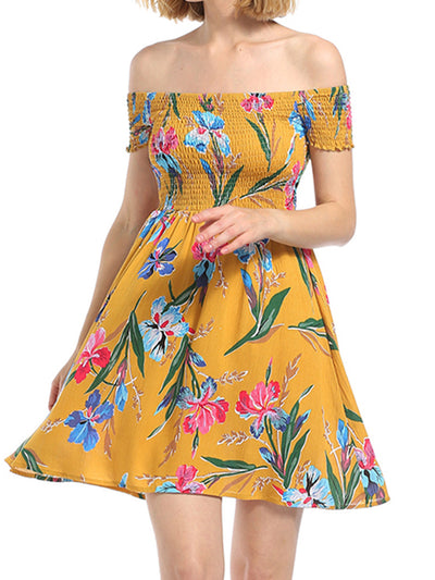 Daydreaming Floral Skater Dress