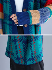 Make Mine Cozy Fair Isle Cardigan Sweater