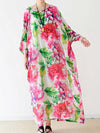 Vintage Rose Chiffon Dress