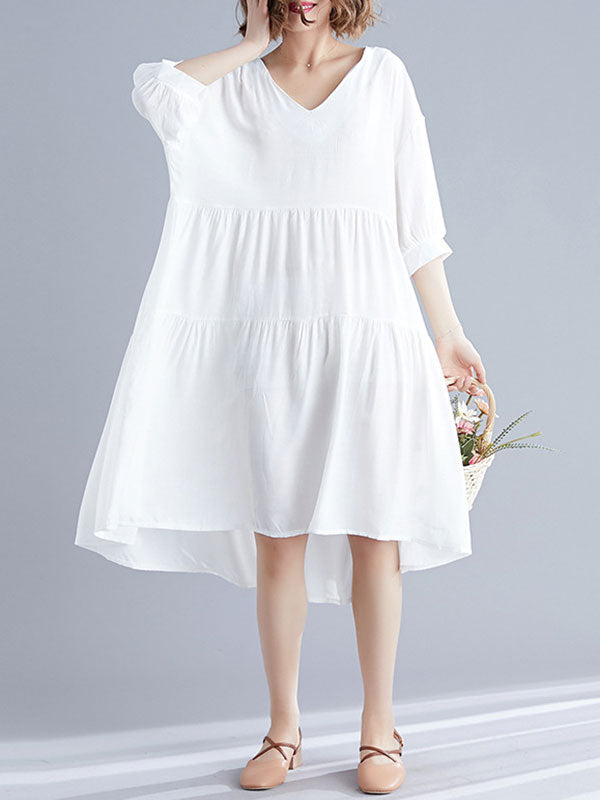 Inspired Spirit Cotton Smock Dress