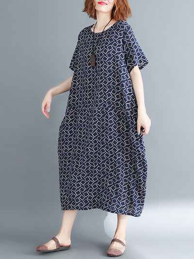 Harlow Cube Connecting Midi Dress