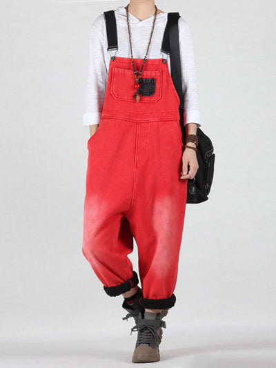 Aiming Higher Cotton Overalls Dungaree