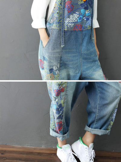 Stonewash Overall Dungarees