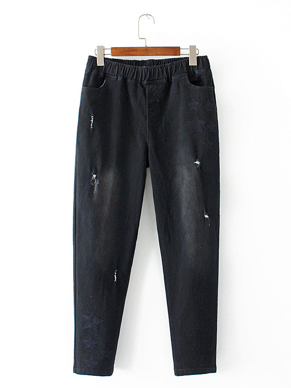 Stellar Ripped Denim Pants