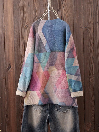 Vintage Full-Sleeve Cotton Sweater