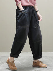 The Rockford Baggy Denim Trouser Pants