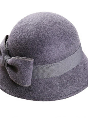 Brim Cloche Hat