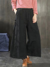 Gradient Printed Wide Leg Pants