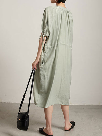 Aligned Design Midi Dress